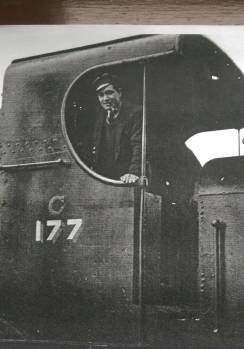 George O'Keefe Train Driver 2